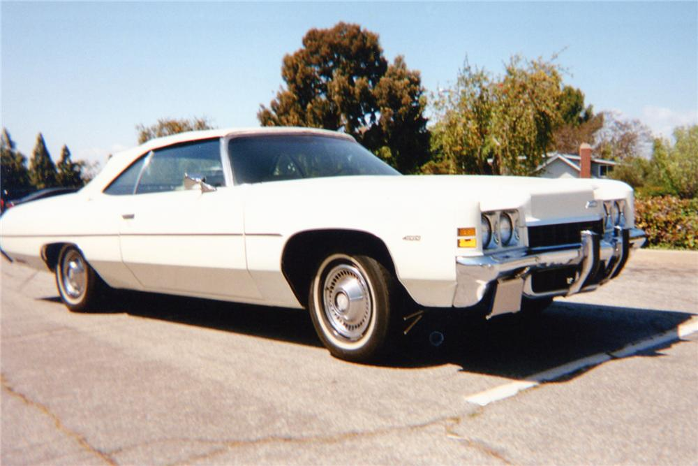 1972 CHEVROLET IMPALA CONVERTIBLE - Front 3/4 - 91148