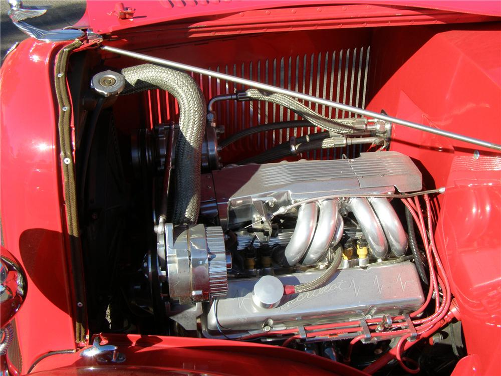 1933 PLYMOUTH CUSTOM COUPE - Engine - 91149