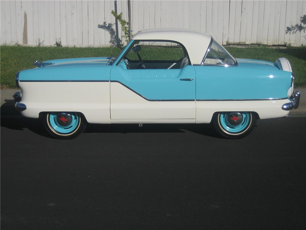 1958 NASH METROPOLITAN 2 DOOR HARDTOP - Side Profile - 91153