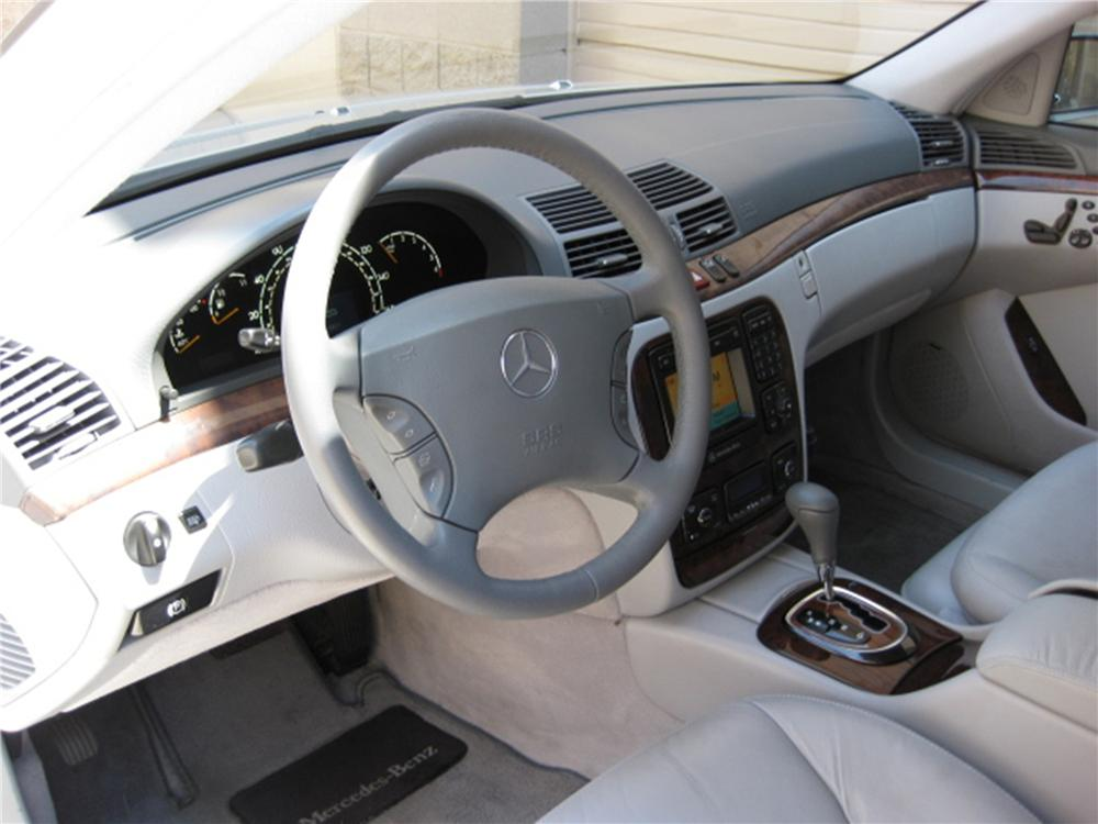 2000 MERCEDES-BENZ S500 4 DOOR SEDAN - Interior - 91169