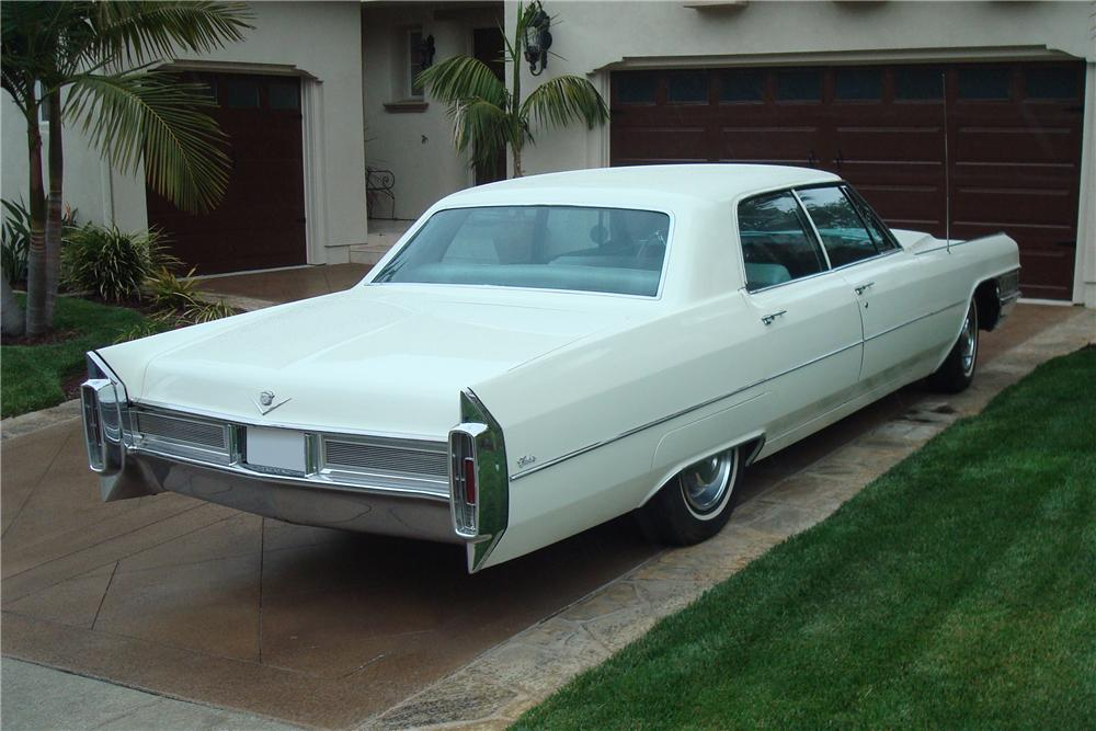 1965 CADILLAC CALAIS 4 DOOR SEDAN - Rear 3/4 - 91171