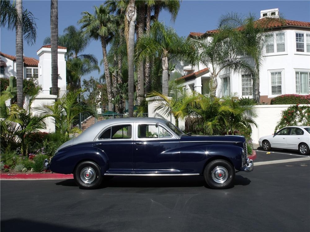 1946 PACKARD CLIPPER SEDAN CUSTOM 4-WHEEL DRIVE - Side Profile - 91175