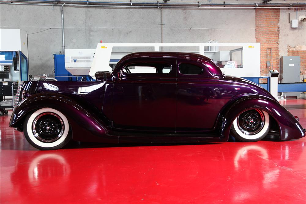 West Coast Customs Cars For Sale >> 1936 FORD CUSTOM 5 WINDOW COUPE - 91181