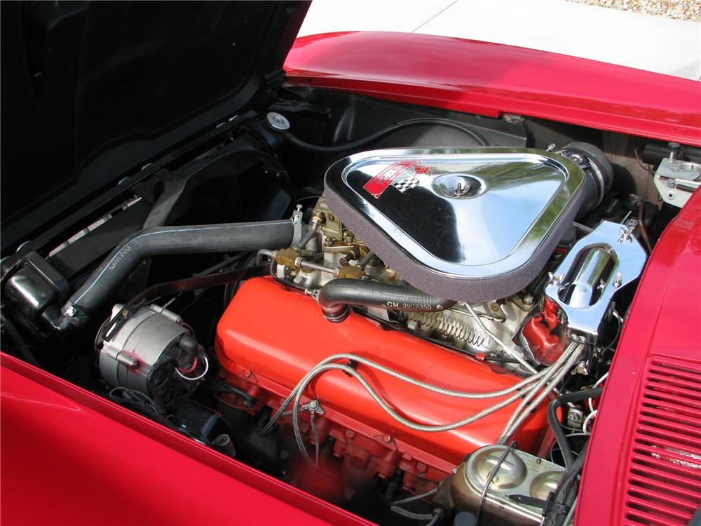 1967 CHEVROLET CORVETTE CONVERTIBLE - Engine - 91182