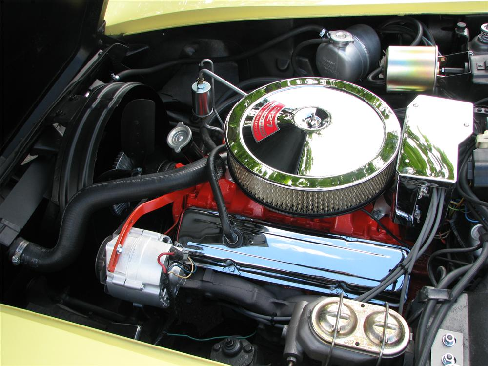 1968 CHEVROLET CORVETTE CONVERTIBLE - Engine - 91194