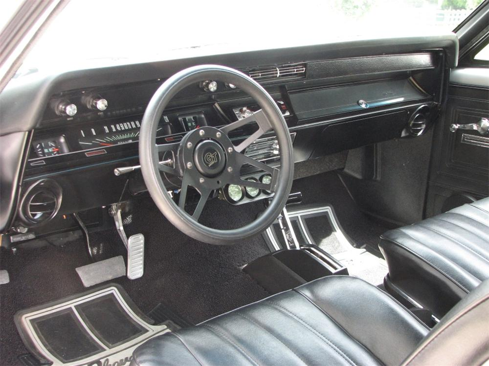 1966 CHEVROLET CHEVELLE CUSTOM COUPE - Interior - 91209