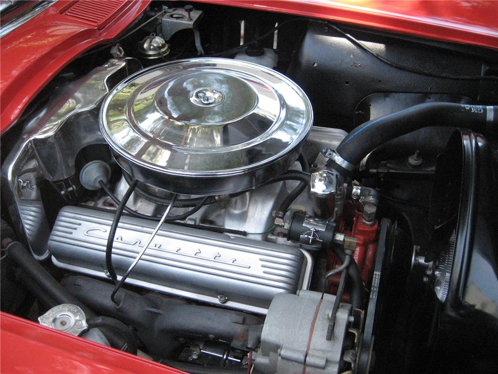 1965 CHEVROLET CORVETTE CONVERTIBLE - Engine - 91211