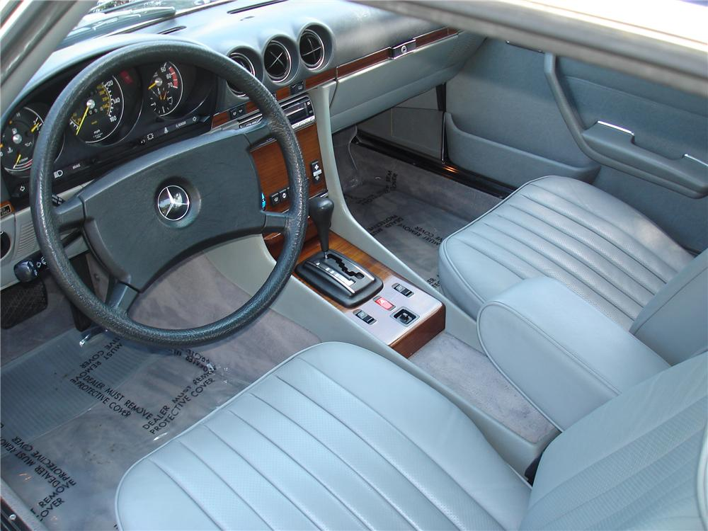1983 MERCEDES-BENZ 380SL ROADSTER - Interior - 91216