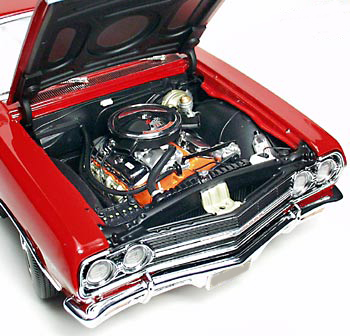 1965 CHEVROLET CHEVELLE MALIBU SS CUSTOM COUPE - Engine - 91220