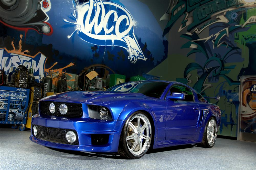 2005 SHELBY WEST COAST CUSTOMS MUSTANG COUPE - Front 3/4 - 91238