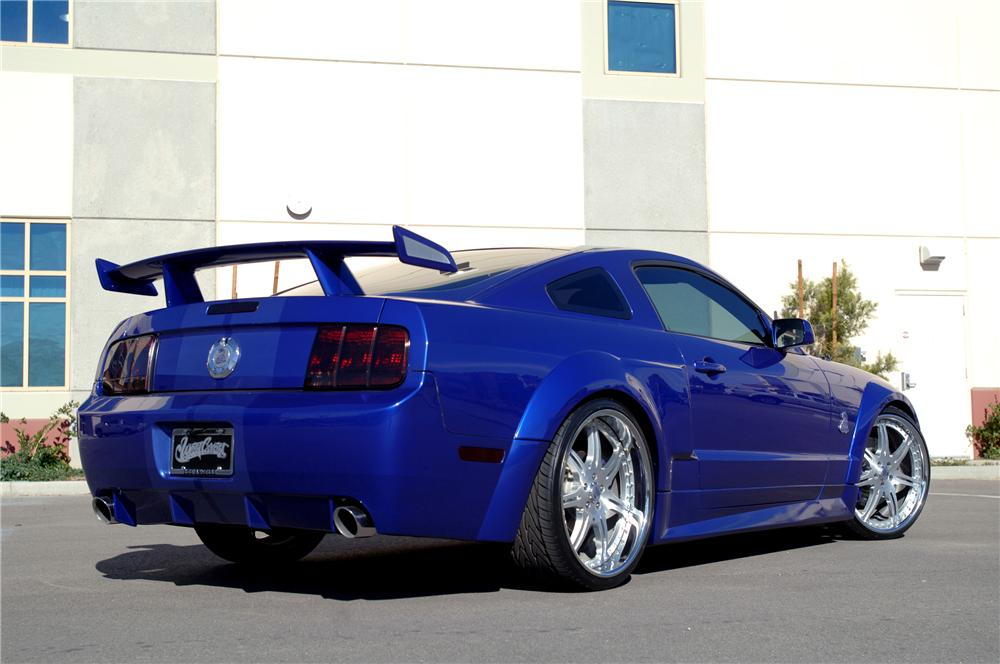2005 shelby west coast customs mustang coupe 91238 for West coast motor inc