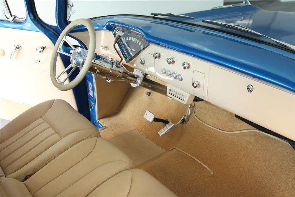 1958 CHEVROLET APACHE STEP-SIDE CUSTOM PICKUP - Interior - 91245