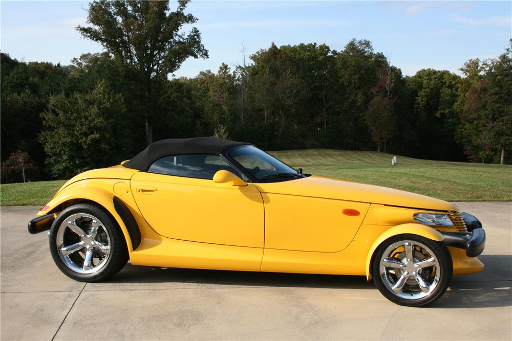 2000 PLYMOUTH PROWLER CONVERTIBLE - Side Profile - 91246