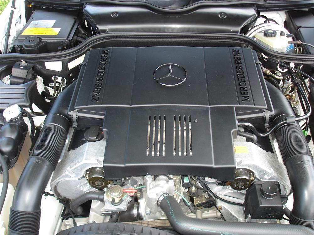 1996 MERCEDES-BENZ 500SL ROADSTER - Engine - 91325