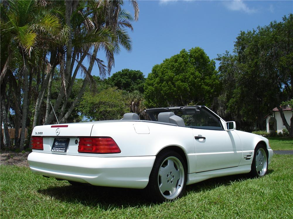 1996 MERCEDES-BENZ 500SL ROADSTER - Rear 3/4 - 91325