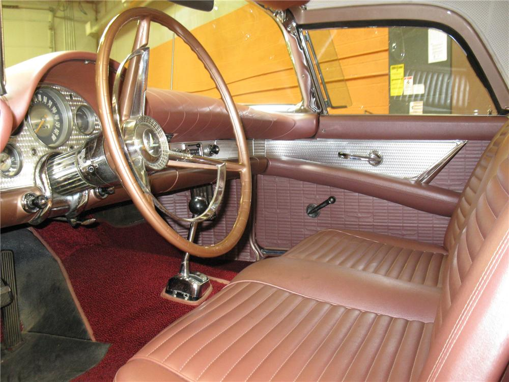 1957 FORD THUNDERBIRD CONVERTIBLE - Interior - 91340