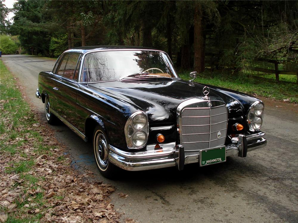 1962 MERCEDES-BENZ 220SE COUPE - Front 3/4 - 91351