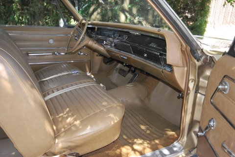 1966 BUICK WILDCAT 2 DOOR HARDTOP - Interior - 91377