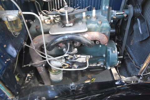 1931 FORD MODEL A ROADSTER - Engine - 91380