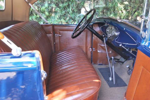 1931 FORD MODEL A ROADSTER - Interior - 91380
