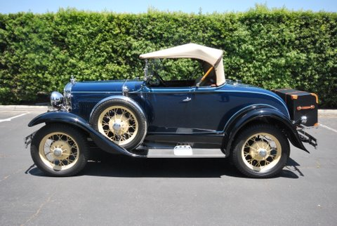 1931 FORD MODEL A ROADSTER - Side Profile - 91380