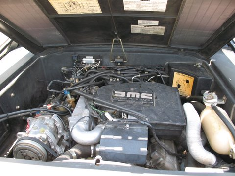 1983 DELOREAN DMC-12 GULLWING COUPE - Engine - 91383