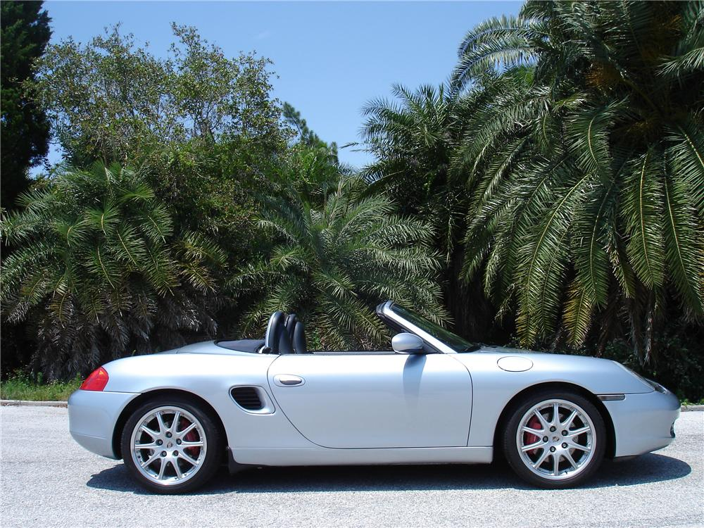 2000 PORSCHE BOXSTER S CONVERTIBLE - Side Profile - 91384
