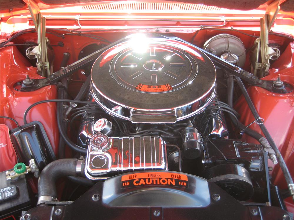 1962 FORD THUNDERBIRD SPORTS ROADSTER - Engine - 91386