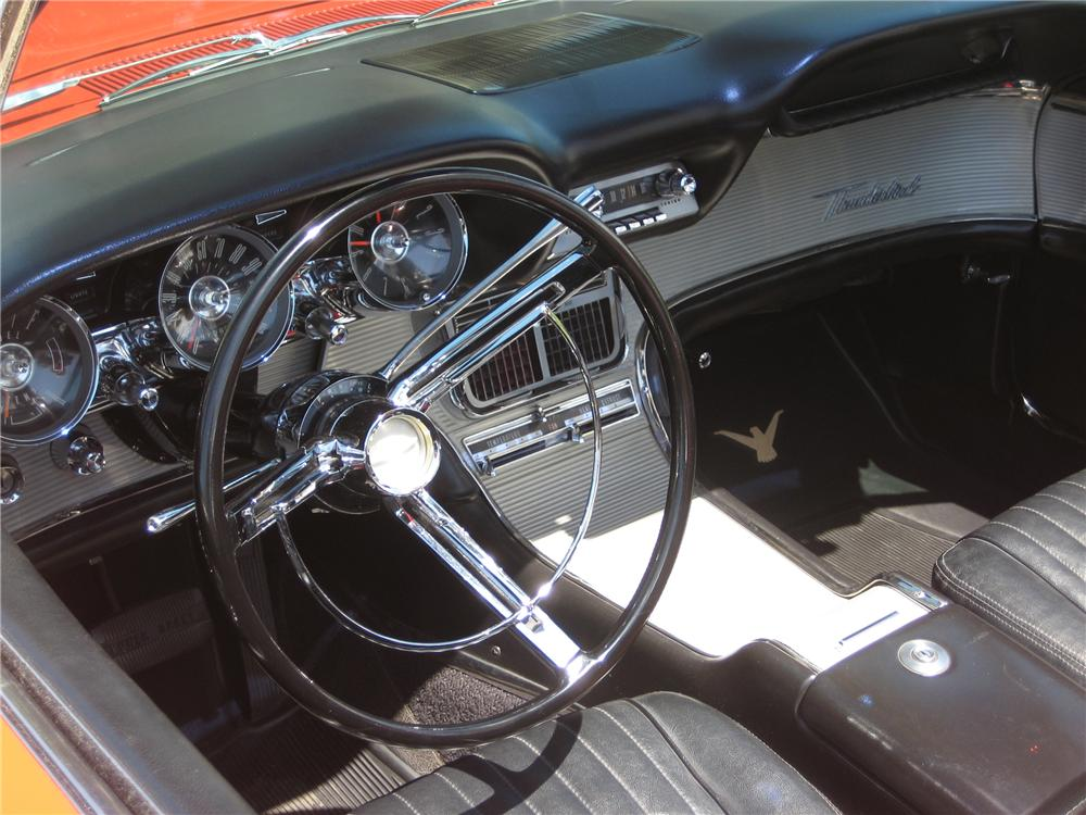 1962 FORD THUNDERBIRD SPORTS ROADSTER - Interior - 91386