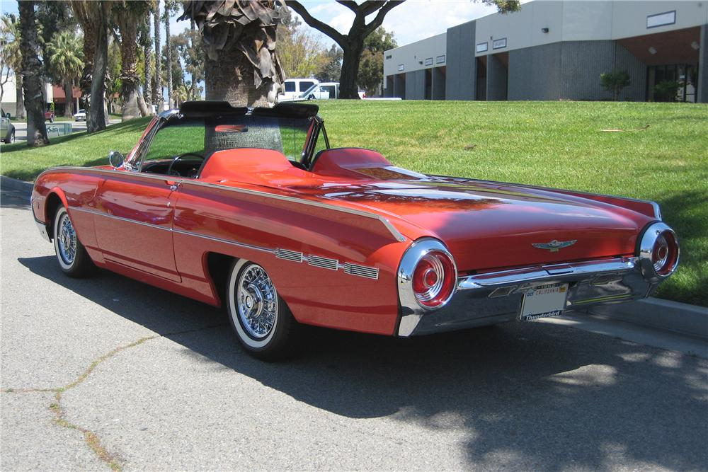 1962 FORD THUNDERBIRD SPORTS ROADSTER - Rear 3/4 - 91386