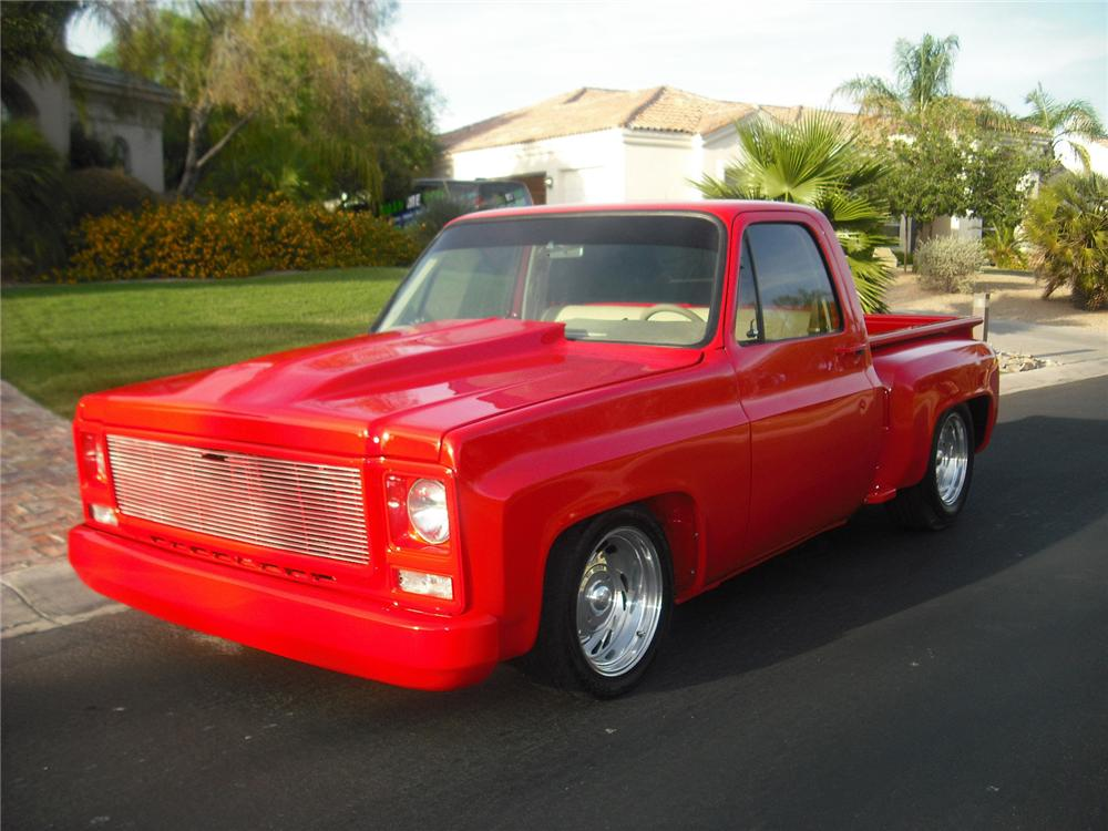 1979 CHEVROLET C-10 CUSTOM PICKUP - Front 3/4 - 91399