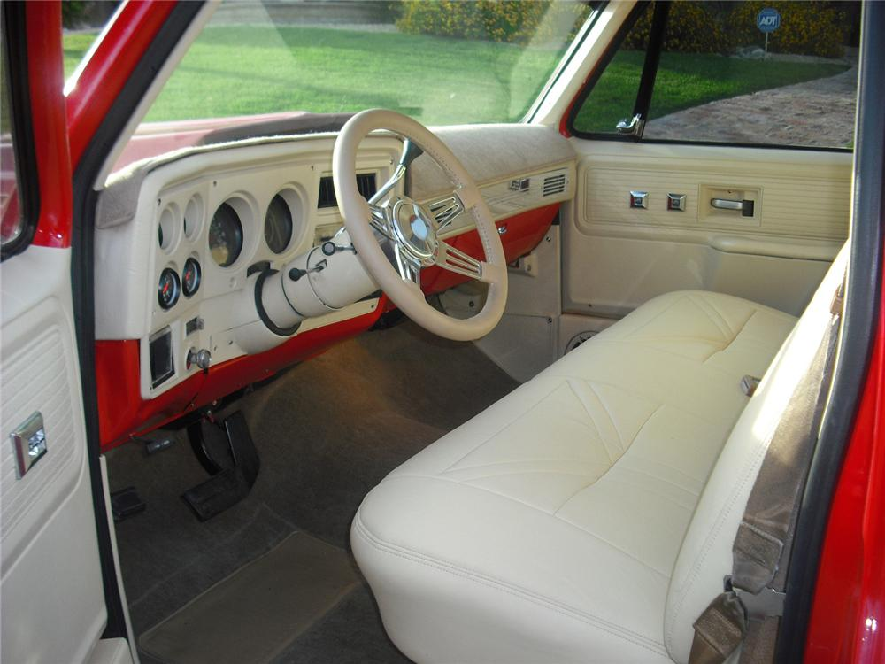 1979 CHEVROLET C-10 CUSTOM PICKUP - Interior - 91399