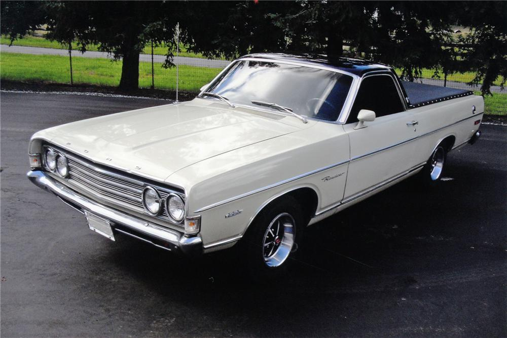 1969 FORD RANCHERO PICKUP - Front 3/4 - 91442