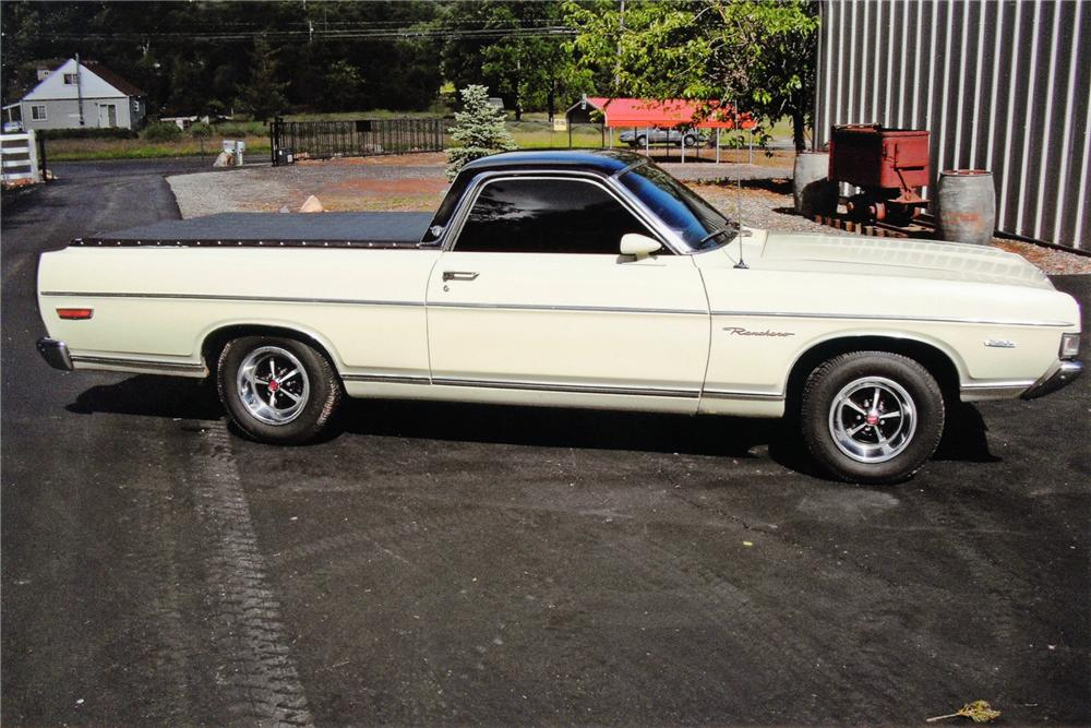 1969 FORD RANCHERO PICKUP - Side Profile - 91442