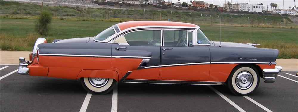1956 MERCURY MONTEREY 4 DOOR HARDTOP - Side Profile - 91443