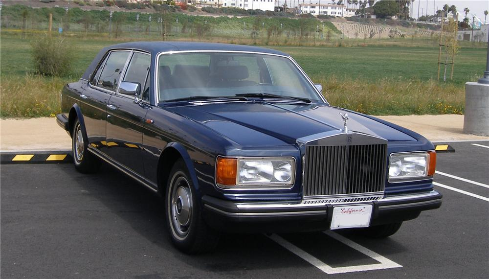 1985 ROLLS-ROYCE SILVER SPUR 4 DOOR SEDAN - Front 3/4 - 91446