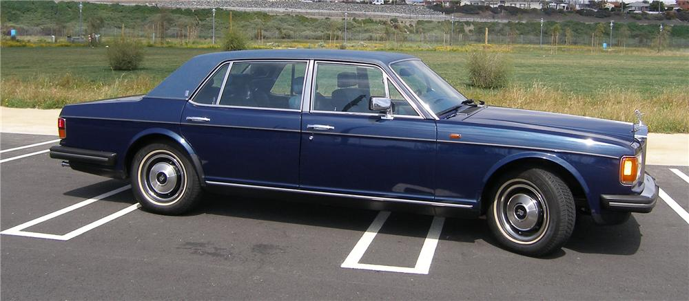 1985 ROLLS-ROYCE SILVER SPUR 4 DOOR SEDAN - Side Profile - 91446