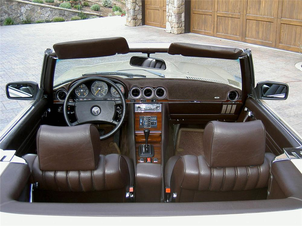 1980 MERCEDES-BENZ 450SL CONVERTIBLE - Interior - 91449