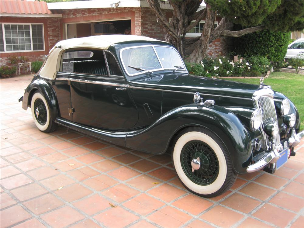 1951 RILEY DROPHEAD COUPE - Front 3/4 - 91460