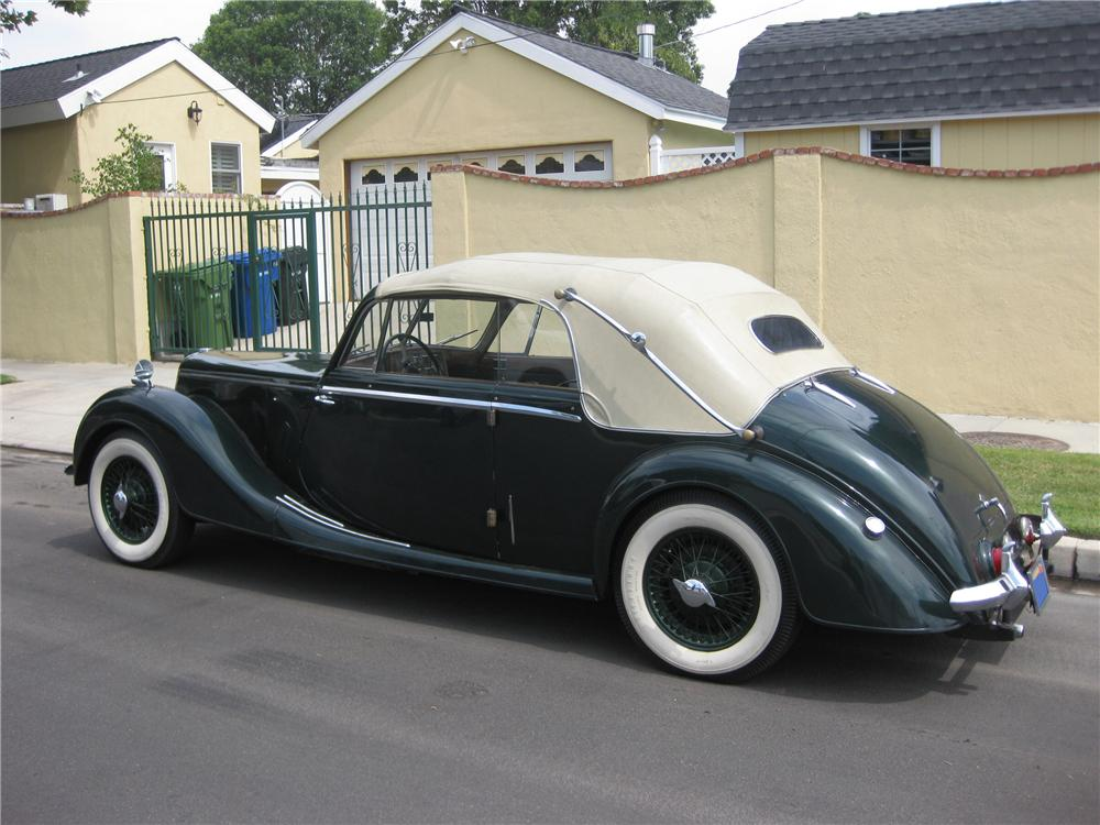 1951 RILEY DROPHEAD COUPE - Rear 3/4 - 91460