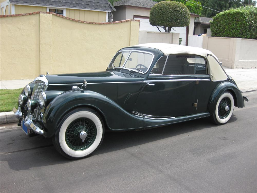 1951 RILEY DROPHEAD COUPE - Side Profile - 91460