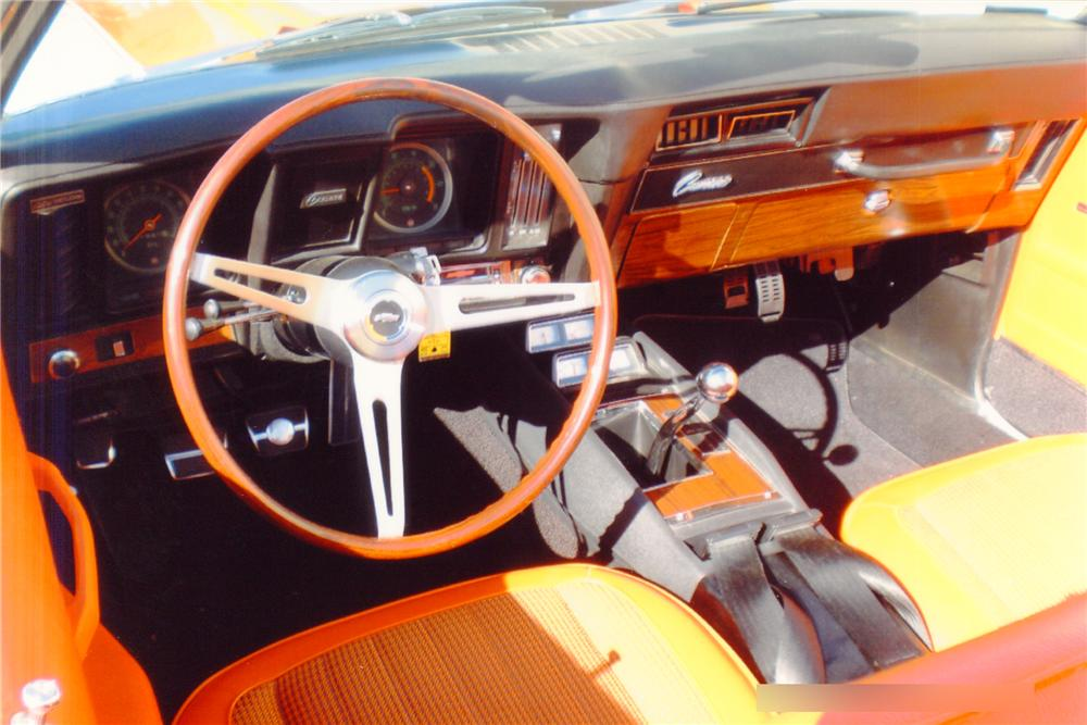 1969 CHEVROLET CAMARO INDY PACE CAR CONVERTIBLE - Interior - 91565