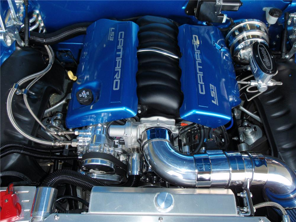 1969 CHEVROLET CAMARO RS PRO-TOURING CONVERTIBLE - Engine - 91599