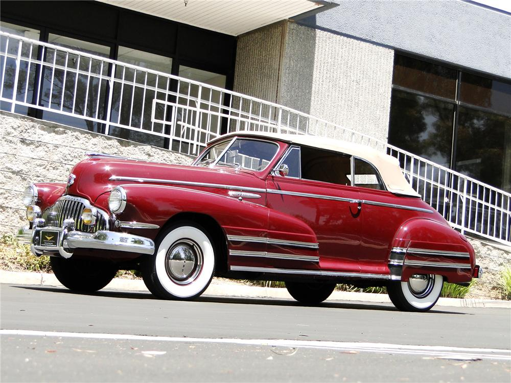 1942 BUICK SERIES 50 CONVERTIBLE - Side Profile - 91608