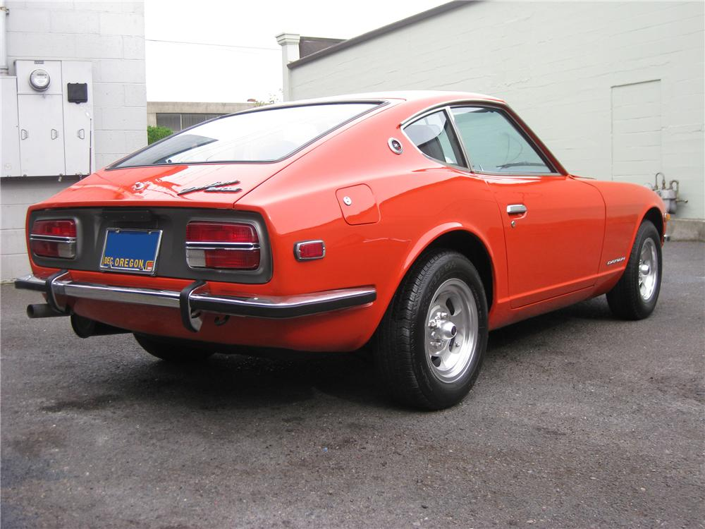1972 DATSUN 240Z COUPE - Rear 3/4 - 91609