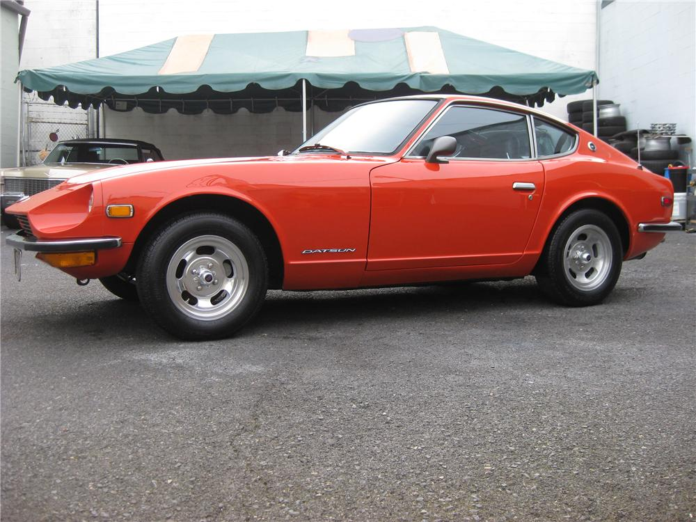 1972 DATSUN 240Z COUPE - Side Profile - 91609