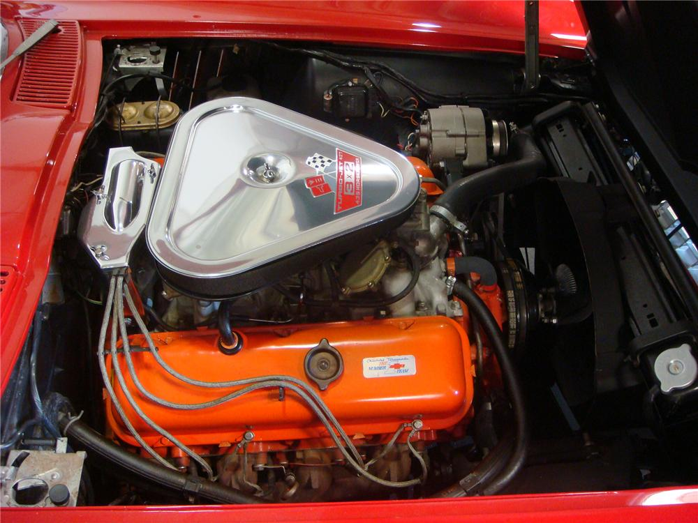 1967 CHEVROLET CORVETTE CONVERTIBLE - Engine - 91676