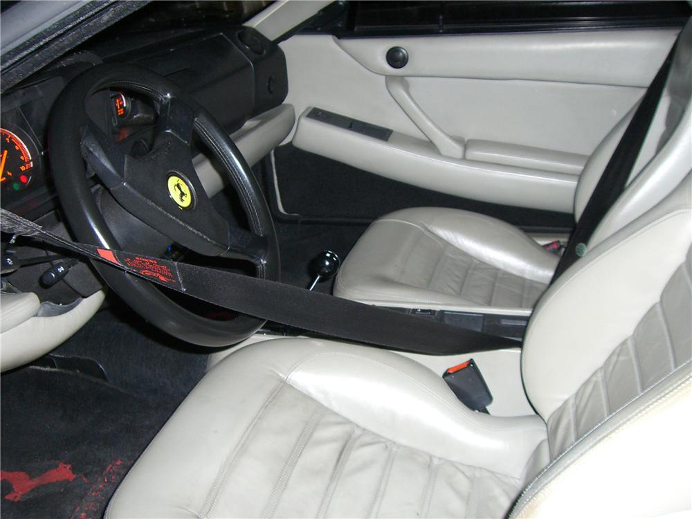 1992 FERRARI 512TR 2 DOOR COUPE - Interior - 91694