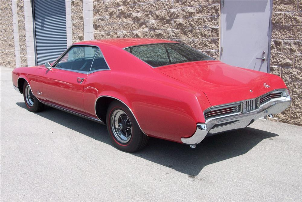 1966 BUICK RIVIERA GS COUPE - Rear 3/4 - 91699