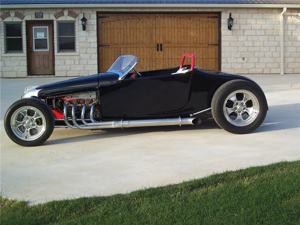 1927 FORD ROADSTER - Side Profile - 91701